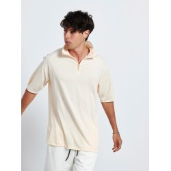 BABY PINK HALF ZIP TOP - Vagrancy lifestyle eshop for Casual men and women clothes