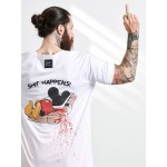 BACK MICKEY TRAP T-SHIRT - Vagrancy lifestyle eshop for Casual men and women clothes