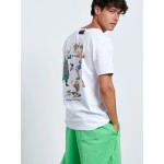 BACK ONE PIECE HEROS T-shirt