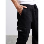 Black Side Pockets Jeans - Vagrancy lifestyle eshop for Casual men and women clothes