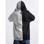 Black&Grey Man Hoodie - Vagrancy lifestyle eshop for Casual men and women clothes