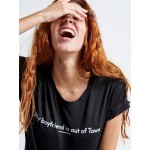 Boy Out of Town Woman T-shirt - Vagrancy lifestyle eshop for Casual men and women clothes