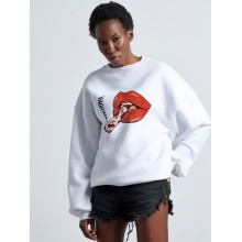 CHERRY LIPS Woman SWEATER