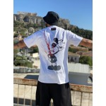 COLORED TRAP WHITE BOX T-SHIRT - Vagrancy lifestyle eshop for Casual men and women clothes