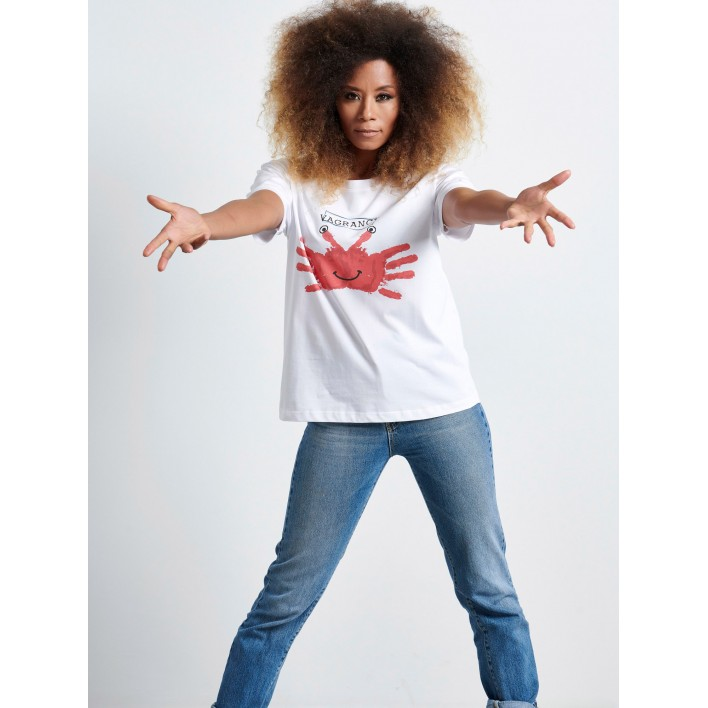 CRAB HANDS T-shirt - Vagrancy lifestyle eshop for Casual men and women clothes