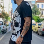DON'T TOUCH Loose T-shirt - Vagrancy lifestyle eshop for Casual men and women clothes