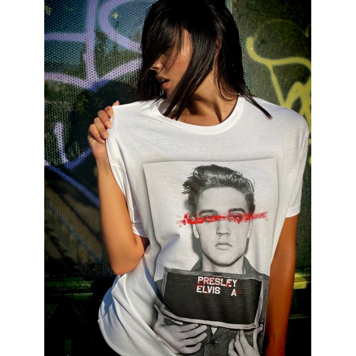 ELVIS WANTED BOX T-shirt - Vagrancy lifestyle eshop for Casual men and women clothes