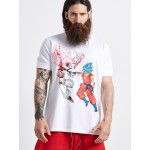 FIGHT SPLASHED RED T-SHIRT - Vagrancy lifestyle eshop for Casual men and women clothes