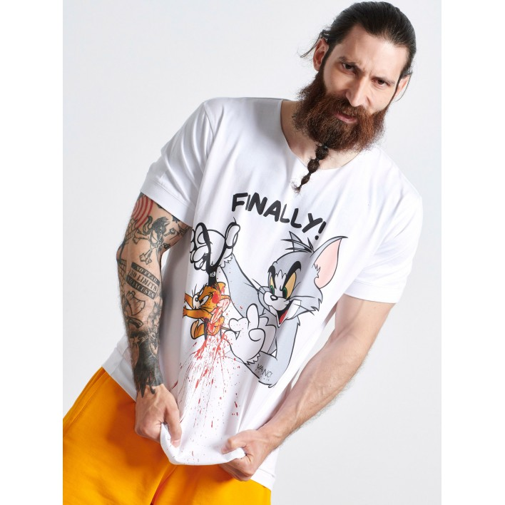 FINALLY T-SHIRT - Vagrancy lifestyle eshop for Casual men and women clothes