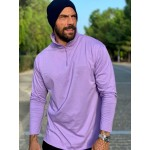 FREEDOM LILAC ZIP TOP