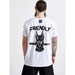 FRIENDLY T-SHIRT - Vagrancy lifestyle eshop for Casual men and women clothes