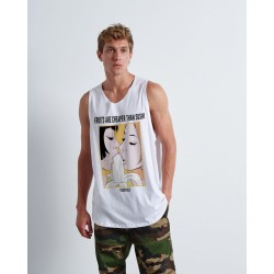 FRUITS VS SUSHI sleeveless - Vagrancy lifestyle eshop for Casual men and women clothes
