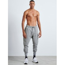 GREY VAGRANCY PATCHED SWEATPANTS