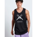 GUNS SLEEVELESS TOP - Vagrancy lifestyle eshop for Casual men and women clothes