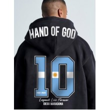 HAND OF GOD HOODED JACKET