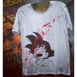 Handmade GOKU T-SHIRT - Vagrancy lifestyle eshop for Casual men and women clothes