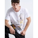 Handmade Mickey T-SHIRT - Vagrancy lifestyle eshop for Casual men and women clothes