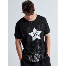 Handmade Star T-SHIRT