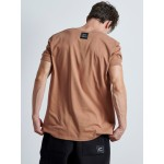 Handmade Vagrancy Brown T-shirt - Vagrancy lifestyle eshop for Casual men and women clothes