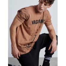 Handmade Vagrancy Brown T-shirt