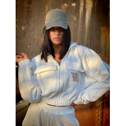 JACKET OFF WHITE - Vagrancy lifestyle eshop for Casual men and women clothes