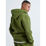 KHAKI HOODED JACKET - Vagrancy lifestyle eshop for Casual men and women clothes
