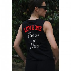 LOVE ME BACK Sleeveless Top - Vagrancy lifestyle eshop for Casual men and women clothes