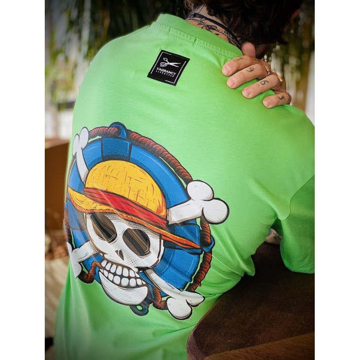 LUFFY LOOSE T-SHIRT - Vagrancy lifestyle eshop for Casual men and women clothes