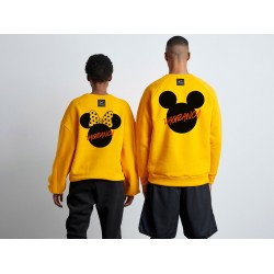 Mickey & Minnie Double Sweaters - Vagrancy lifestyle eshop για Casual ανδρικά και γυναικεία Ρούχα
