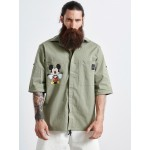 MICKEY Khaki Mexican Πουκάμισο - Vagrancy lifestyle eshop for Casual men and women clothes