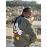 MICKEY SMILE BOMBER JACKET - Vagrancy lifestyle eshop for Casual men and women clothes