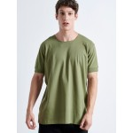 MICKEY SMILE KHAKI T-shirt - Vagrancy lifestyle eshop for Casual men and women clothes