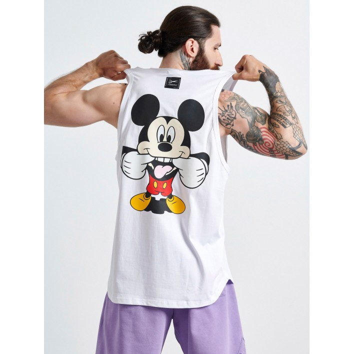 MICKEY SMILE SLEEVELESS TOP - Vagrancy lifestyle eshop for Casual men and women clothes