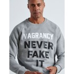 Never Fake It Sweater - Vagrancy lifestyle eshop for Casual men and women clothes