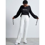 Off white Vagrancy  pants - Vagrancy lifestyle eshop for Casual men and women clothes