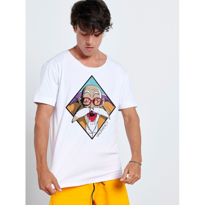 OLD MAN ANIME T-SHIRT - Vagrancy lifestyle eshop for Casual men and women clothes
