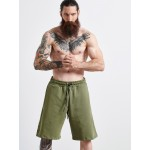 OLIVE COTTON SHORTS - Vagrancy lifestyle eshop for Casual men and women clothes