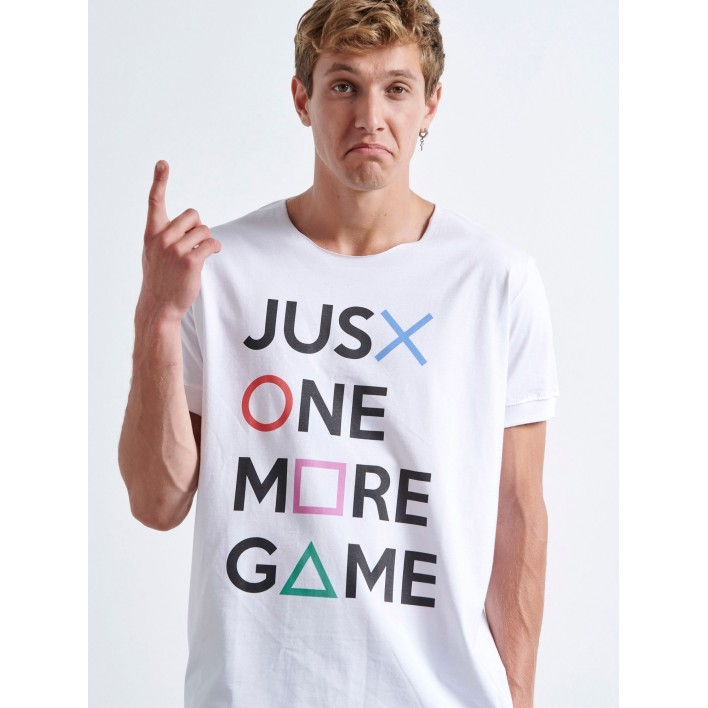 ONE MORE GAME T-shirt - Vagrancy lifestyle eshop for Casual men and women clothes