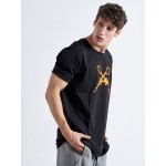 Orange Guns T-shirt - Vagrancy lifestyle eshop for Casual men and women clothes