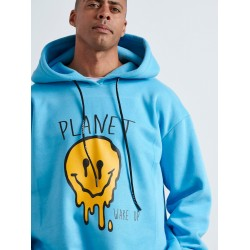 PLANET Φούτερ με Κουκούλα - Vagrancy lifestyle eshop for Casual men and women clothes