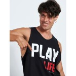 PLAY LIFE SLEEVELESS TOP - Vagrancy lifestyle eshop for Casual men and women clothes