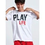 PLAY LIFE T-SHIRT - Vagrancy lifestyle eshop for Casual men and women clothes
