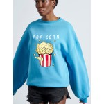 POP CORN Woman SWEATER - Vagrancy lifestyle eshop for Casual men and women clothes