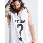 PSYCHO SLEEVELESS TOP - Vagrancy lifestyle eshop for Casual men and women clothes