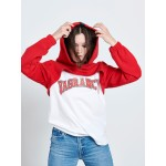 RED CROP HOODIE - Vagrancy lifestyle eshop for Casual men and women clothes