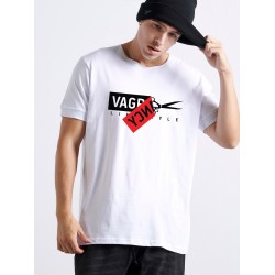 Scissors Tape T-shirt - Vagrancy lifestyle eshop for Casual men and women clothes