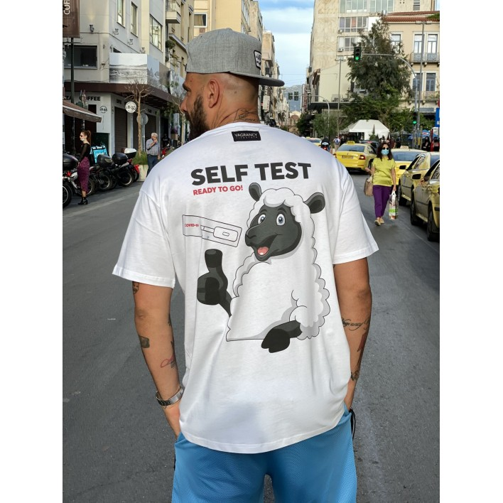 SELF TEST T-shirt - Vagrancy lifestyle eshop for Casual men and women clothes