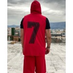 SEVEN SLEEVELESS HOODIE - Vagrancy lifestyle eshop for Casual men and women clothes