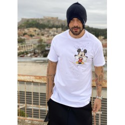 side mickey T-shirt - Vagrancy lifestyle eshop for Casual men and women clothes