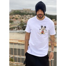 side mickey T-shirt